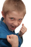Garçon de boxe. image stock