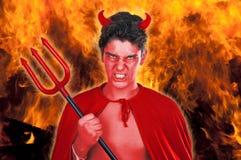 Garçon de diable Photographie stock libre de droits