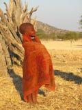 Garçon de Himba photos libres de droits
