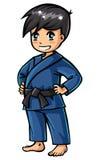 Garçon de judo Image libre de droits