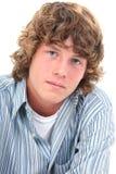 Garçon de l'adolescence attirant de seize ans Photo stock