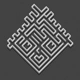 Garçon de labyrinthe Images stock