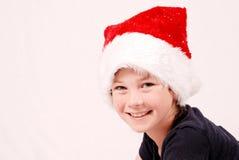 Garçon de Noël heureux Photographie stock libre de droits