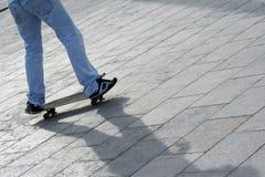 Garçon de patin Image libre de droits