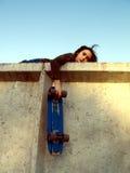 Garçon de patineur Photo libre de droits