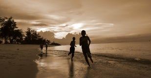 Garçon de plage Photo libre de droits