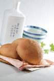 Garçon de Roti (pain malaisien) Images libres de droits