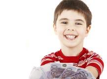 Garçon de sourire Image libre de droits