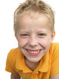 Garçon de sourire Images stock