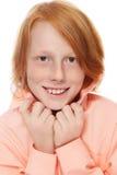 Garçon de sourire Photo libre de droits