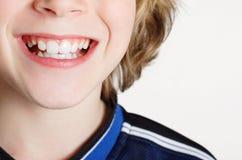 Garçon de sourire photo stock