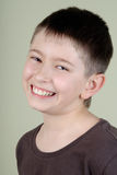 Garçon de sourire Image stock