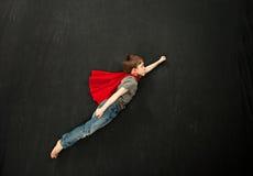 Garçon de super héros Photographie stock libre de droits