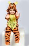 Garçon de tigre Photos libres de droits