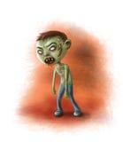 Garçon de zombi Photographie stock libre de droits