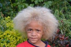 Garçon des Fidji Images libres de droits