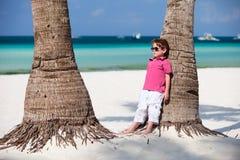 Garçon des vacances Photos libres de droits