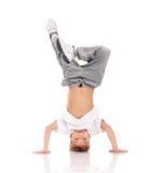 Garçon gymnastique Image libre de droits