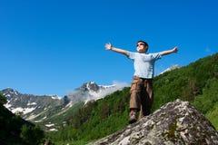 Garçon heureux Photo stock