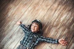 Garçon heureux Images libres de droits