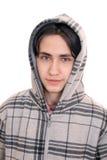 Garçon homosexuel dans une jupe photos libres de droits