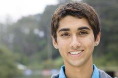 Garçon indien d'adolescent photographie stock libre de droits