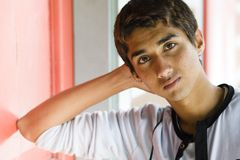 Garçon indien d'adolescent photos libres de droits