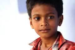 Garçon indien innocent images libres de droits
