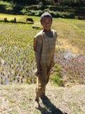 Garçon indigène malgache Images libres de droits