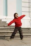 Garçon joyeux Images stock
