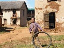 Garçon malgache indigène Photographie stock libre de droits