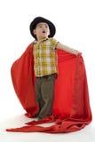 Garçon mignon avec le chapeau Image libre de droits