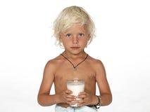 Garçon mignon et jeune Images libres de droits