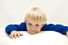 Garçon mignon et souriant Photographie stock