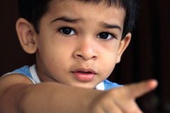 Garçon mignon indien Photos stock