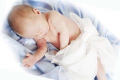 Garçon nouveau-né Photographie stock libre de droits