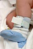 Garçon nouveau-né Images libres de droits