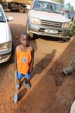 Garçon ougandais Photo stock