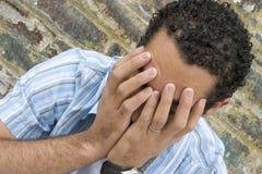 Garçon pleurant images libres de droits
