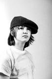 Garçon sans foyer Photographie stock libre de droits