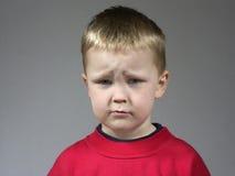 Garçon triste Image libre de droits