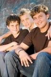 Garçons de l'adolescence Image stock