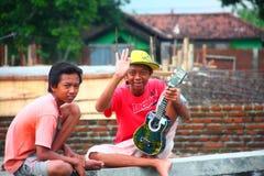 Garçons en Indonésie Image libre de droits