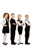 Garçons et filles Photo stock