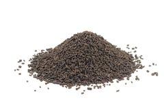 Garść brown granule katalizator obraz royalty free