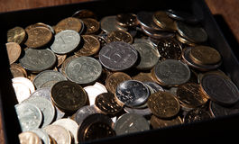 Garść Rosyjscy ruble Obraz Royalty Free