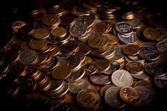 Garść Rosyjscy ruble Zdjęcie Royalty Free