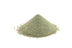 Garść zielona kosmetyczna glina Fotografia Stock