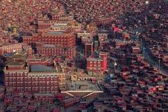 Gar Sertar Сычуань Китай 2015 Larung Стоковое Фото