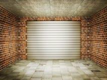garaż Fotografia Stock